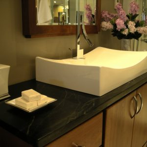 Soapstone Bathroom